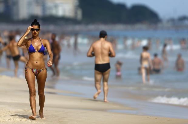 Copacabana beach topless