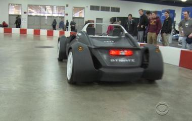 Can a 3D-printed car change the auto industry?