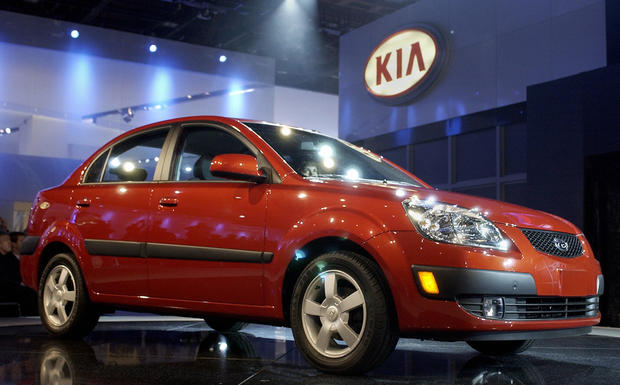 Kia Rio - Deadliest (and safest) cars on the road - Pictures
