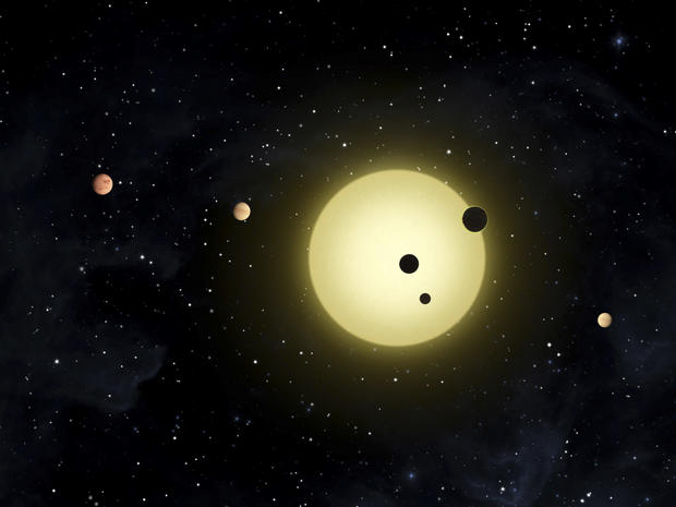 Kepler's imagined worlds