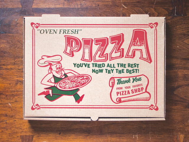 Pizza Box Art Pictures Cbs News