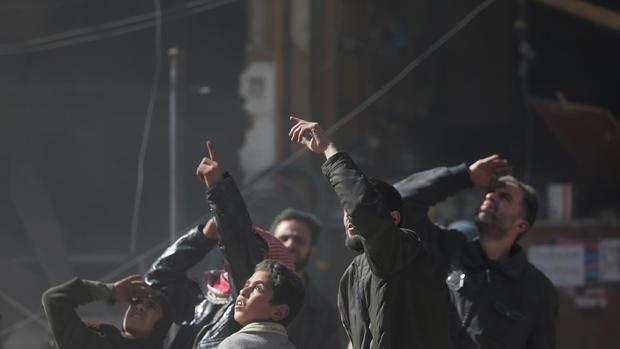 Bombed by Assad