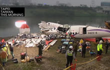 """Cockpit audio captures """"Mayday"""" before TransAsia plane crash in Taiwan"""