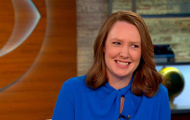 """The Girl on the Train"" author Paula Hawkins' ticket to success"