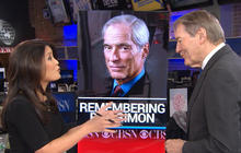 """CBS This Morning"" co-host Charlie Rose reflects on Bob Simon's legacy"