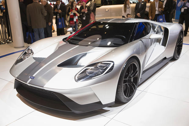 2016 Ford Gt The Best Of Chicago Auto Show 2017 Pictures Cbs News