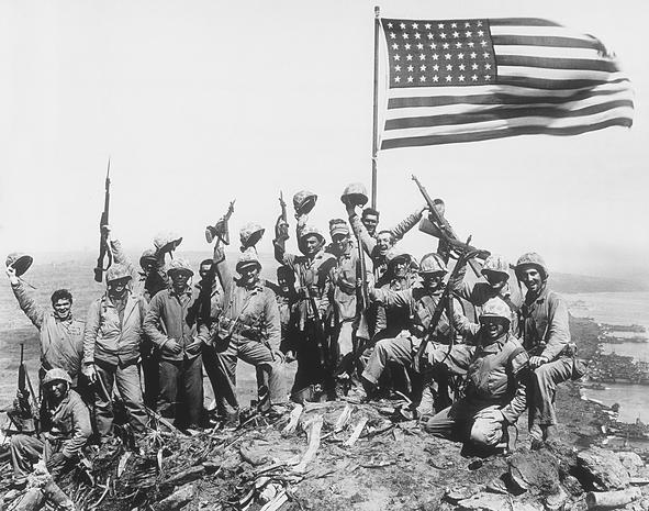 70th anniversary of Iwo Jima landing