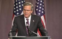 """Jeb Bush vows to be """"own man"""" in foreign policy"""