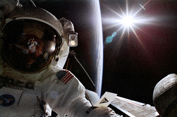 Out-of-this-world astronaut selfies