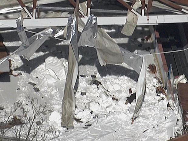 Ice Rink Roof Collapses With Youth Hockey Team Inside
