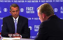 "John Boehner: White House ""has attacked"" Netanyahu"