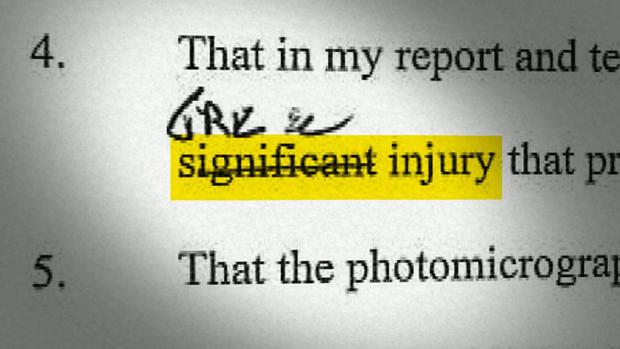 Dr. Choi's affidavit