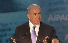 Israeli Prime Minister Benjamin Netanyahu addresses AIPAC