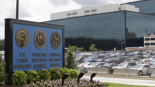 The National Security Administration campus in Fort Meade, Md., is seen June 6, 2013.