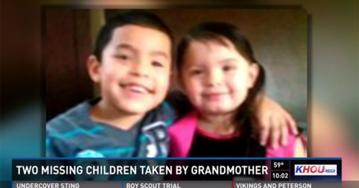 Texas Children Allegedly Kidnapped By Grandmother Found Safe Cbs News