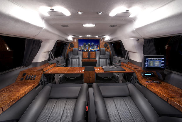 Cadillac Escalade Esv >> Stretched Cadillac Escalade ESV by Becker - These bespoke, deliciously excessive rides, will ...