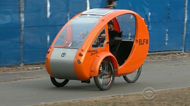 Bike Car Hybrid Combines Functions Makes Commute Fun
