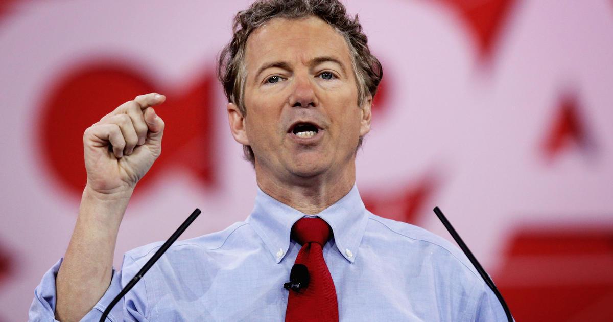 "Sen. Rand Paul: ""Stop Obama's ammo ban"" - CBS News"