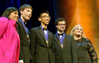 Teen scientists compete with breakthrough ideas