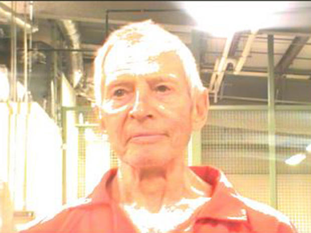 Robert Durst arrest pic