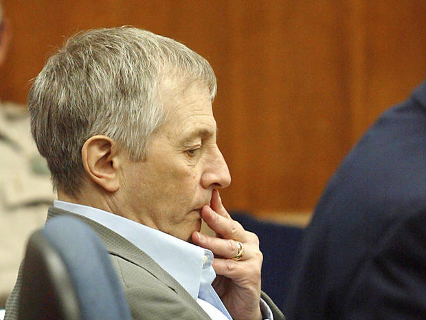 Robert Durst sits in court November 10, 2003, at the Galveston County Courthouse in Galveston, Texas.