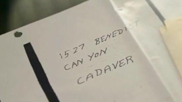"""The """"cadaver"""" letter"""