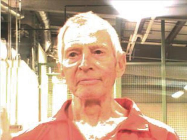 Durst mugshot after arrest for murder of Susan Berman in March 2015