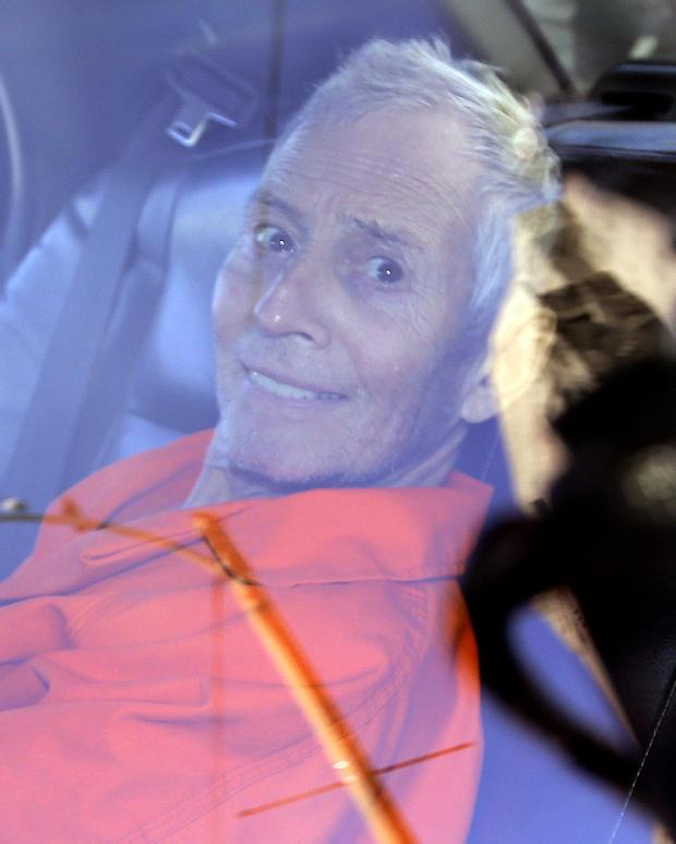 Durst arrested for the murder of Susan Berman in New Orleans, La.