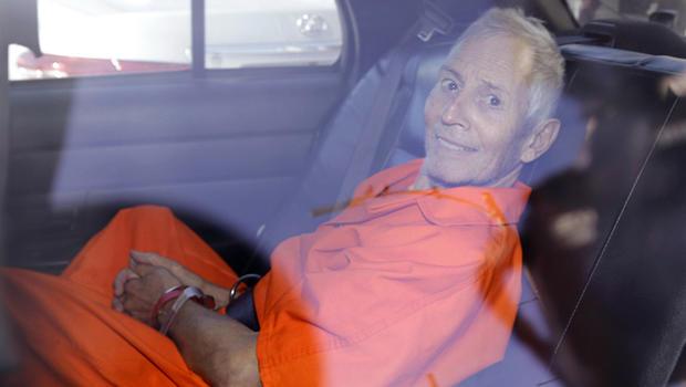 Robert Durst transported following arraignment
