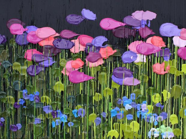 The works of blind artist Jeff Hanson
