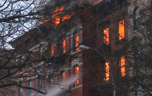 Building explosion sparks 7-alarm fire in New York's East Village