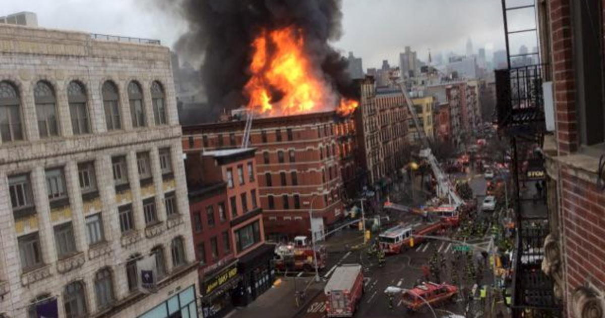 Explosion, huge fire, injure at least 19 in NYC's East
