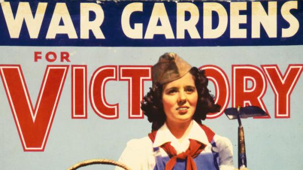 Propaganda art for WWII Victory Gardens