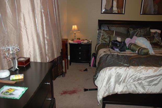 The Fallis bedroom