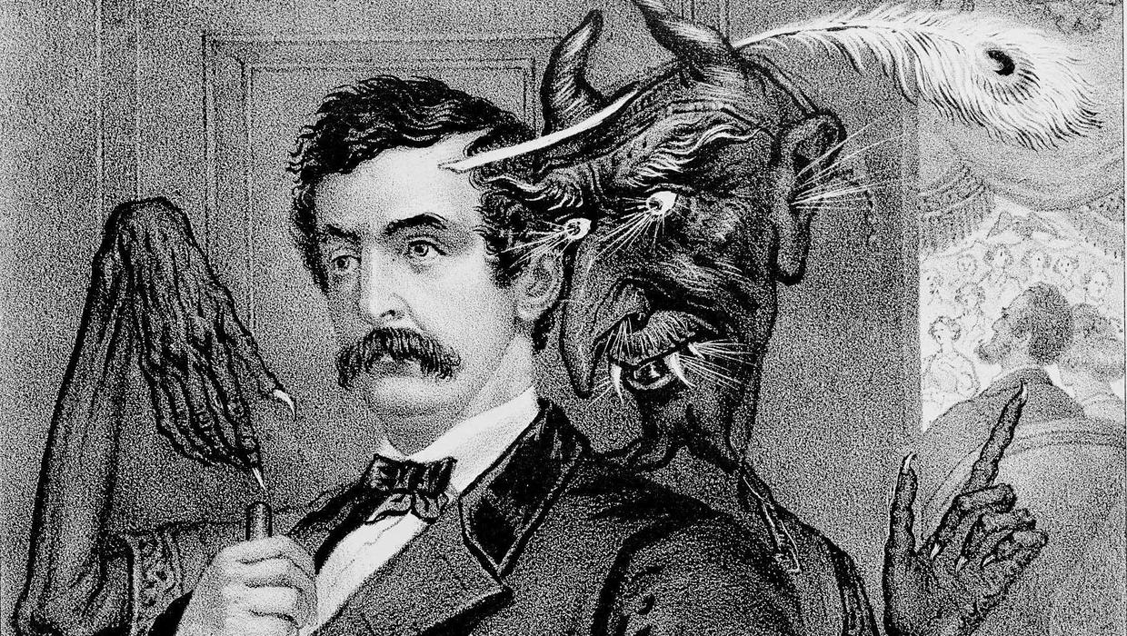 an analysis of the life of john wilkes booth the man behind the assassination of president abraham l