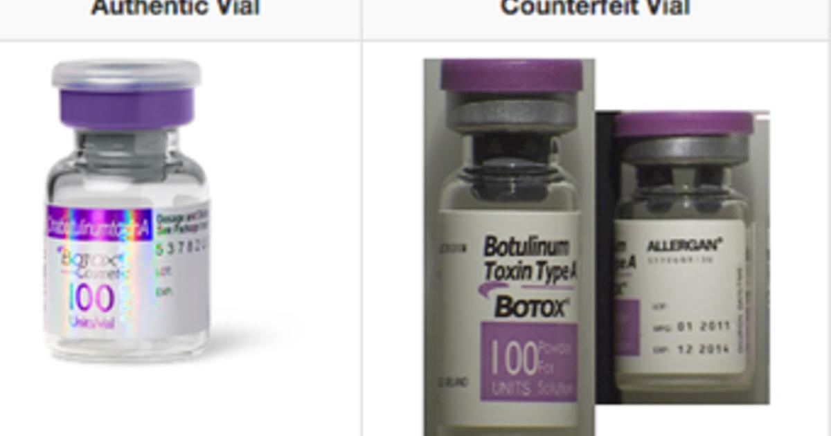 FDA warns about counterfeit Botox - CBS News