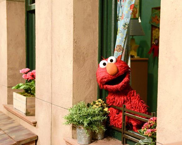 Sesame Street Makeover