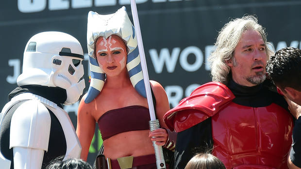 Scenes from Star Wars Celebration