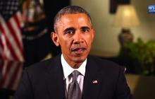 """Obama warns climate change """"can no longer be denied"""""""