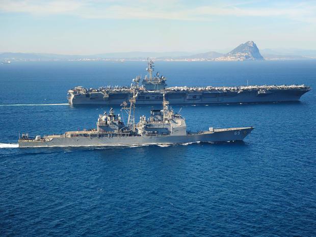 USS Vicksburg USS Theodore Roosevelt
