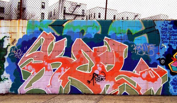 Bronx Wall