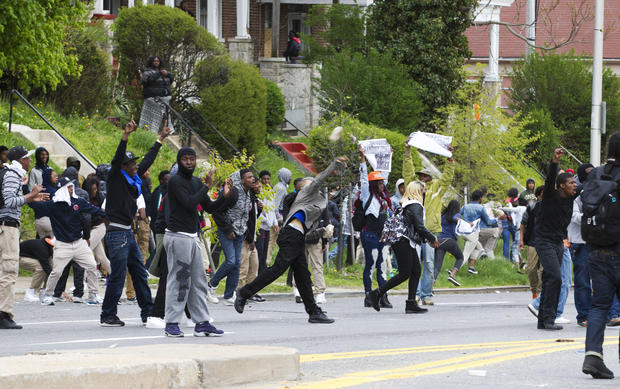 Freddie Gray: Baltimore reacts