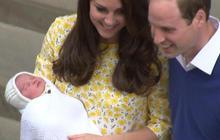 First look at royal baby girl