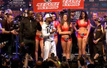 Mayweather and Pacquiao on the fight of the century