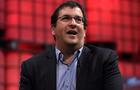 In this handout image supplied by Sportsfile, Dave Goldberg, CEO of SurveyMonkey, speaks on the center stage during Day 2 of the 2014 Web Summit at the Royal Dublin Society Nov. 5, 2014, in Dublin, Ireland.