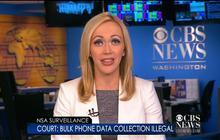 NSA Surveillance: Bulk phone data collection illegal