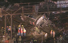 Deadly Amtrak train derailment in Philadelphia