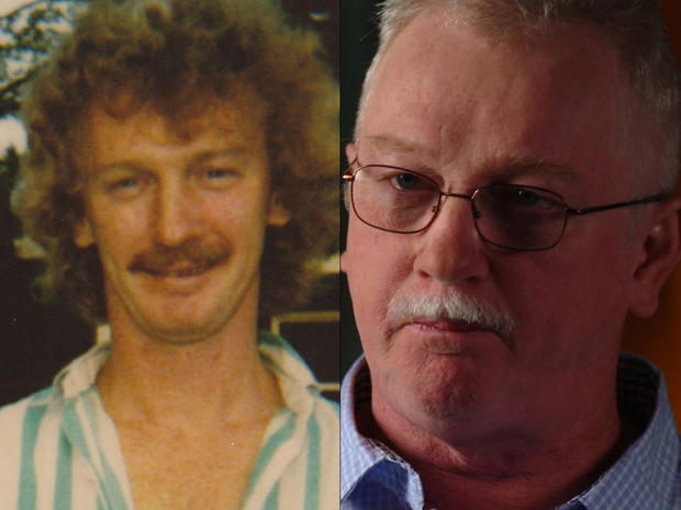 Robert McGrail then and now