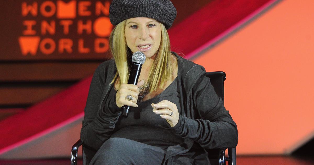 Barbra Streisand Memoir Scheduled For 2017 Cbs News