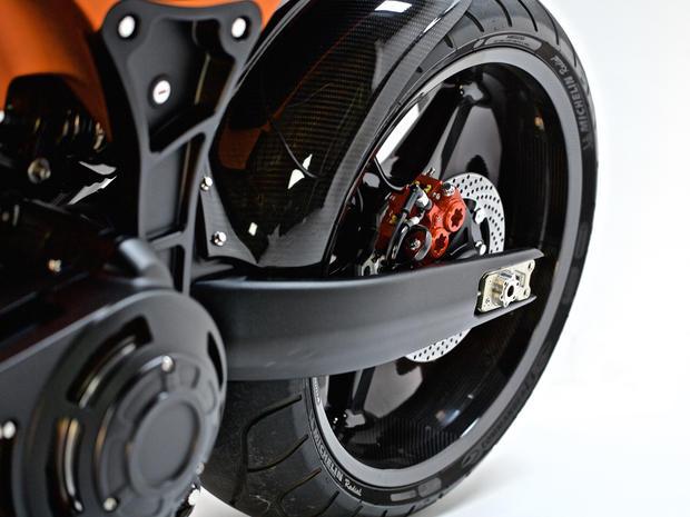 Keanu Reeves' brand of motorcycles